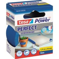 tesa Gewebeband extra Power Perfect 56343-00036 38mmx2,75m blau